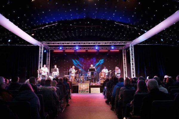 performance at derby folk festival taken by Graham Whitmore